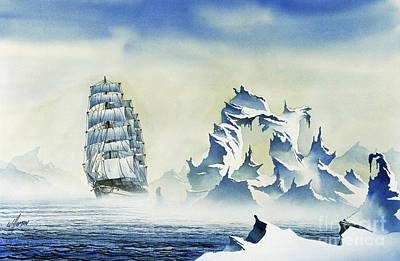 Arctic Seas Art Print by James Williamson