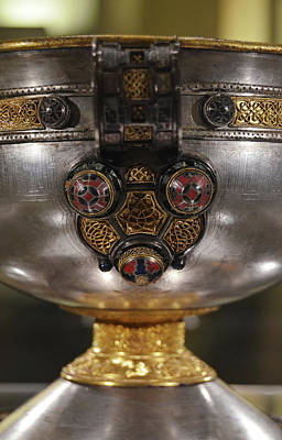 Photograph - Ardagh Chalice Macro Irish Artistic Heritage by Shawn O'Brien