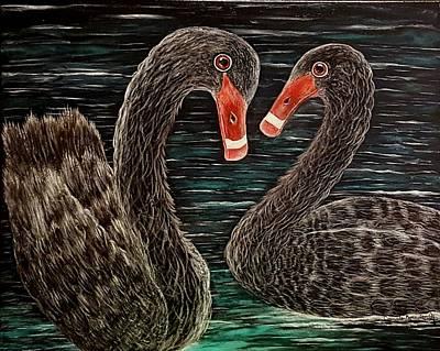 Ardent Hearts  Original by Connie Kottwitz