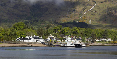 Photograph - Ardgour Departure by Paul DeRocker