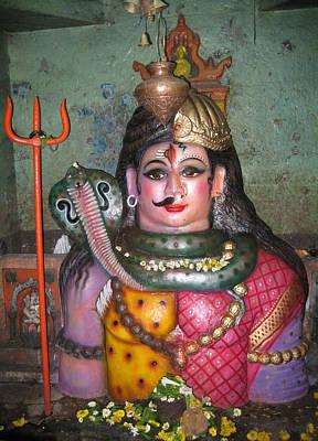 Parvati Photograph - Ardhanareshwara by Umesh U V