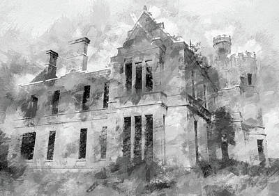 Photograph - Ardtully Castle In Kilgarvan Ireland by Rob Huntley
