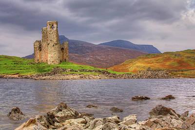 Photograph - Ardvreck Castle by Colette Panaioti