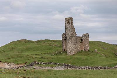Photograph - Ardvrek Castle 0947 by Teresa Wilson