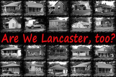 Photograph - Are We Lancaster 1 by Joseph C Hinson Photography