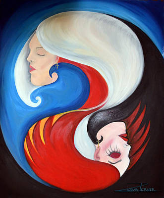 Painting - Are We Really That Different? by Zuzana Perner