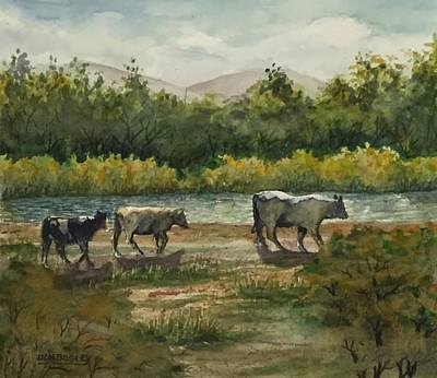 Painting - Are We There Yet? by Don Bosley