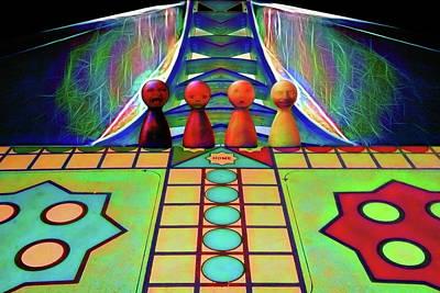 Digital Art - Are You Game by John Haldane