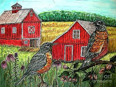 Pastel Barns Painting - Are You Sure This Is The Way To St.paul? by Kim Jones