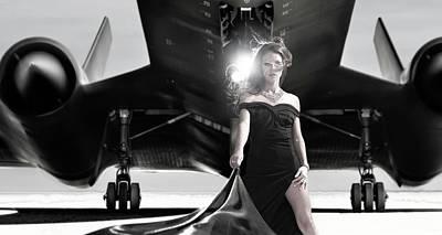 Photograph - Area 71 Blackstar by Dario Infini