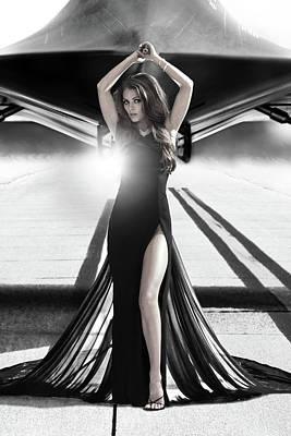 Photograph - Area 71 Dark Diva Mid by Dario Infini