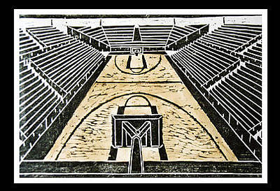 Printmaking Mixed Media - Arena by Christopher Williams