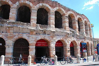 Arena Di Verona In Piazza Bra - Verona Italy Art Print