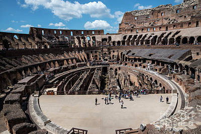 Photograph - Arena Of Death And Glory by Brenda Kean
