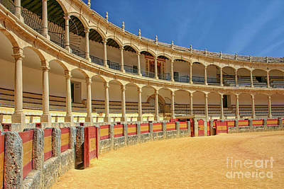 Photograph - Arena Ronda by Patricia Hofmeester
