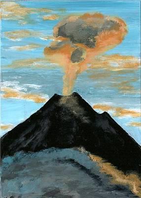 Arenal Volcan I Art Print by Susan Macdonald