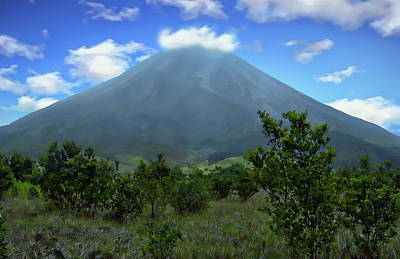 Photograph - Arenal Volcano by Anthony Dezenzio