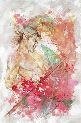 Speer Painting - Ares by Rineke De Jong