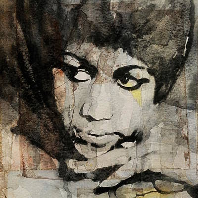 Aretha Franklin - Don't Play That Song For Me  Art Print