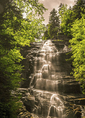 Photograph - Arethusa Falls 2 by Sherman Perry