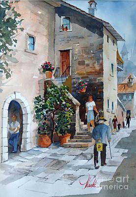 Painting - Arezzo-3 by Gerald Miraldi