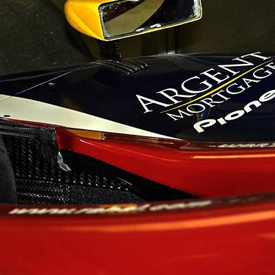 Photograph - Argent Mortgage Pioneer Indy Car 21162 2020 by Jerry Sodorff