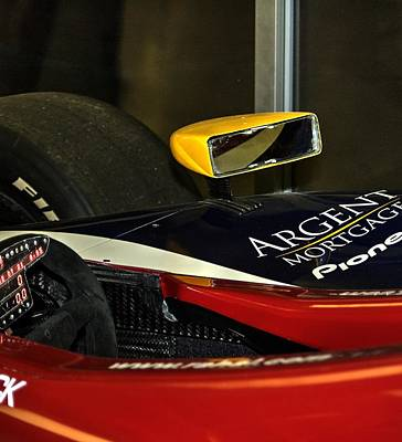 Photograph - Argent Mortgage Pioneer Indy Car 21162 by Jerry Sodorff