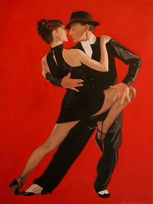 Painting - Argentine Tango by Rosencruz  Sumera