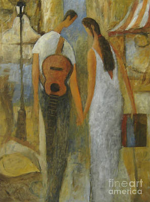 Painting - Argentines by Glenn Quist