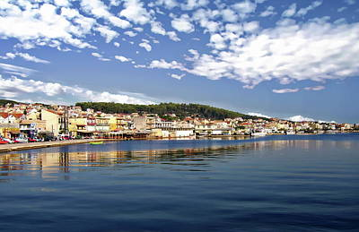 Photograph - Argostoli Coastal Panorama by Anthony Dezenzio