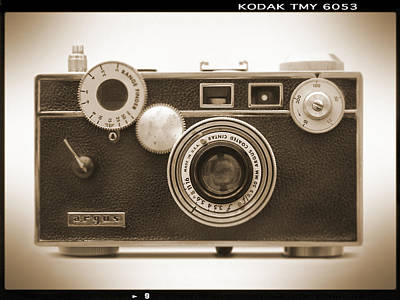 Vintage Camera Wall Art - Photograph - Argus - Brick by Mike McGlothlen