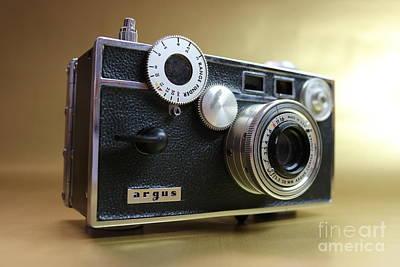 Rewind Photograph - Argus C-3 by Erick Schmidt