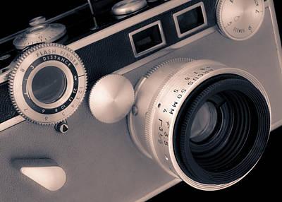 Argus C3 Matchmatic 35mm Film Camera Art Print by Jim Hughes