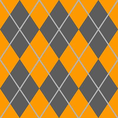 Argyle Diamond With Crisscross Lines In Pewter Gray N03-p0126 Art Print by Custom Home Fashions