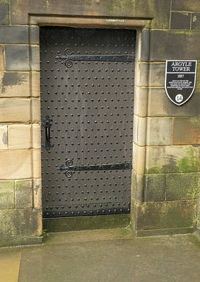 Photograph - Argyle Tower Door by Jean Noren