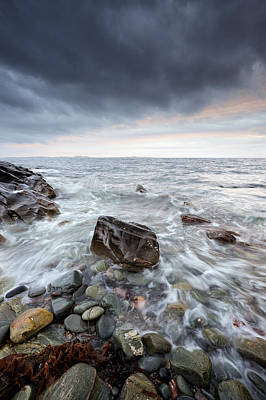 Photograph - Argyll Coast Seascape by Grant Glendinning