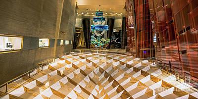 Las Vegas Photograph - Aria High Limit Lounge Entrance by Aloha Art