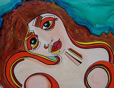 Arial Art Print by Valerie Wolf