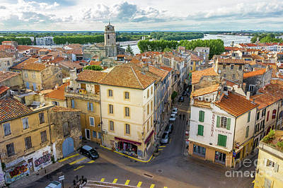 Arial View Photograph - Arial View Of Arles, France by Liesl Walsh