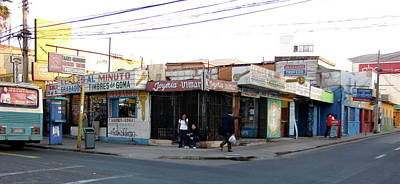 Photograph - Arica Chile Street Corner by Brett Winn