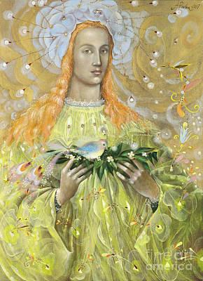 Aries Art Print by Annael Anelia Pavlova