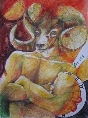 Aries Original by Brigitte Hintner