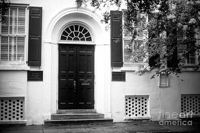 Photograph - Charleston Arion Society by John Rizzuto