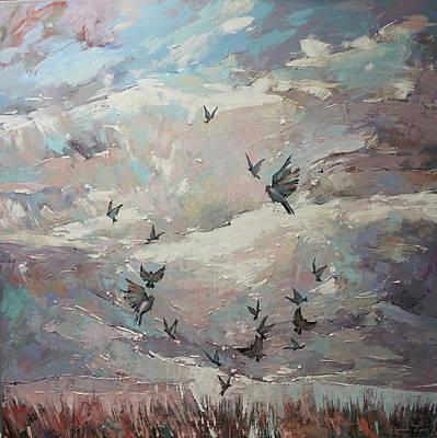 Painting -  Arioso by Anastasija Kraineva