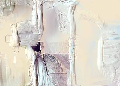 Abstractabstract Painting - Aristocat by Davina Nicholas