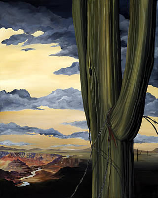 Nashville Park Painting -  Arizona A Day Of Infamy, A Lifetime Of Grandeur by K Llamas