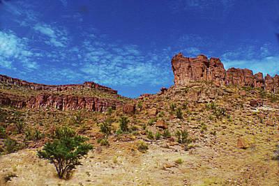 Digital Art - Arizona Badlands by Susan Vineyard