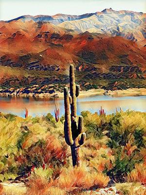 Photograph - Arizona Burn by Deniece Platt