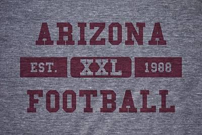Arizona Photograph - Arizona Cardinals Retro Shirt by Joe Hamilton