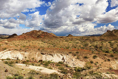 Photograph - Arizona Cliffs by James Eddy